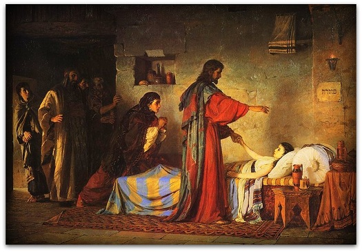 jesus heals jairus daughter