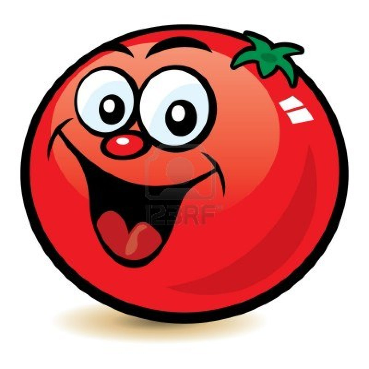 happy tomato logo
