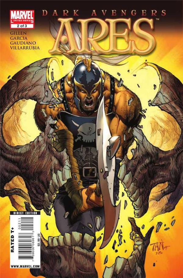 Ares, Greek God, Marvel Comic character