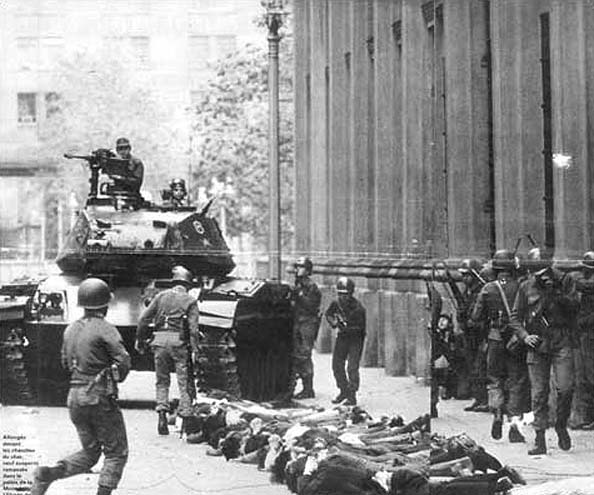 the Chilean coup, 1973