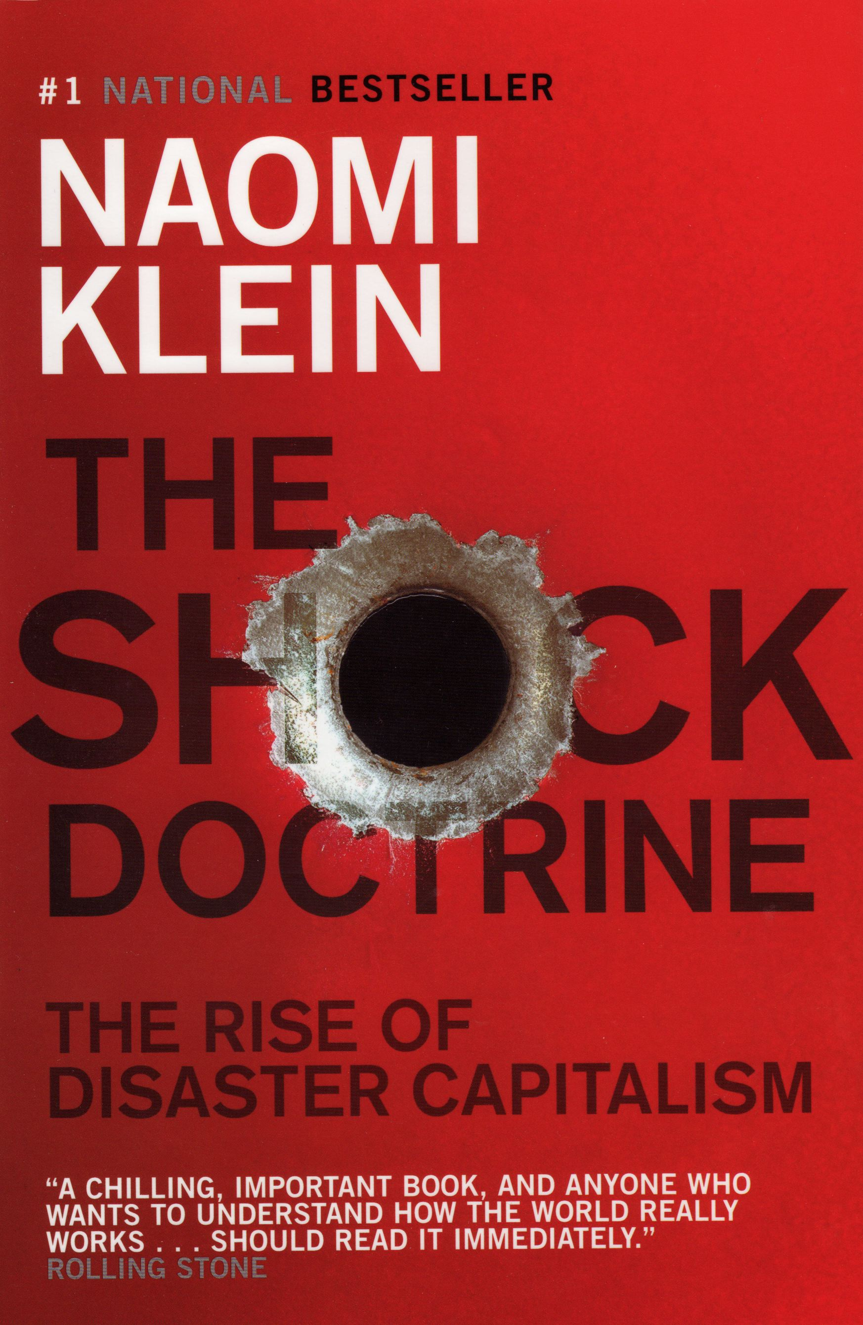 The Shock Doctrine book cover