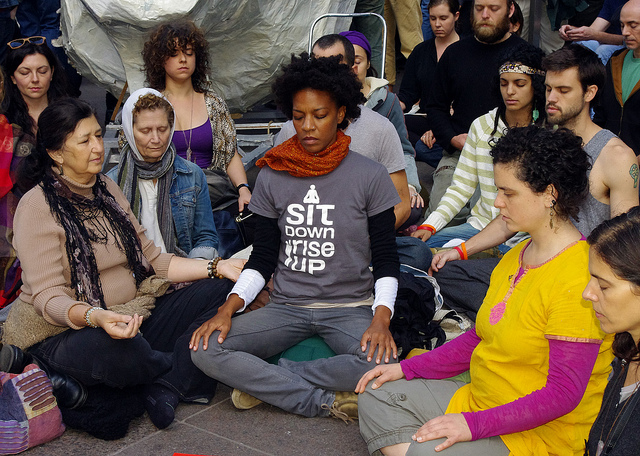 occupy meditation