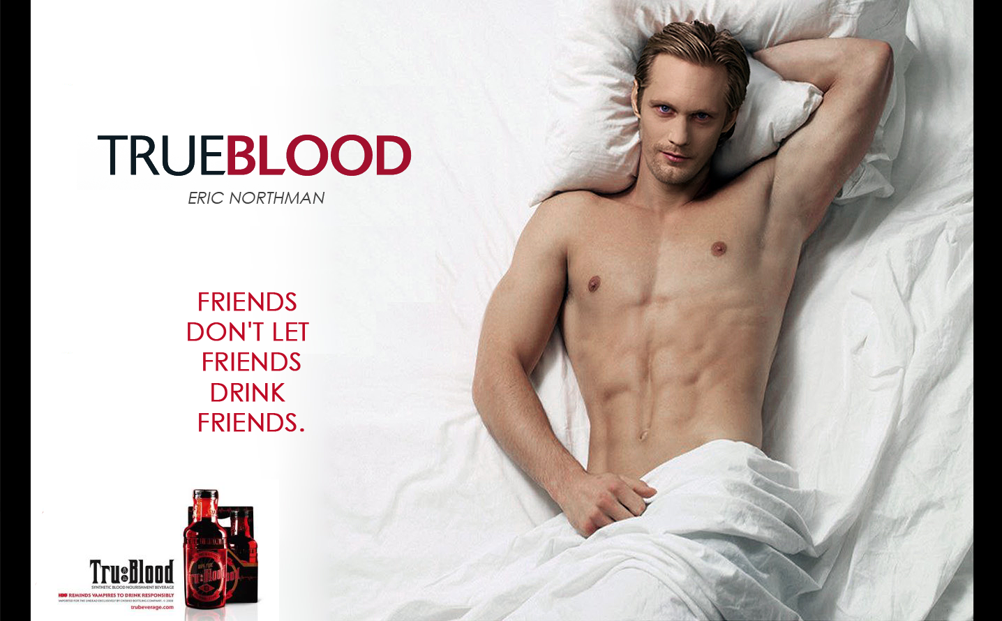 eye candy for women and gay men, in True Blood
