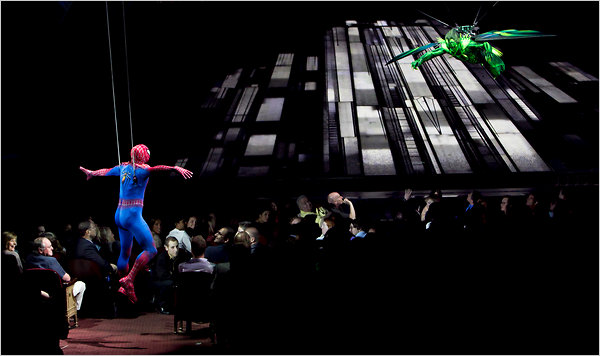 spiderman musical