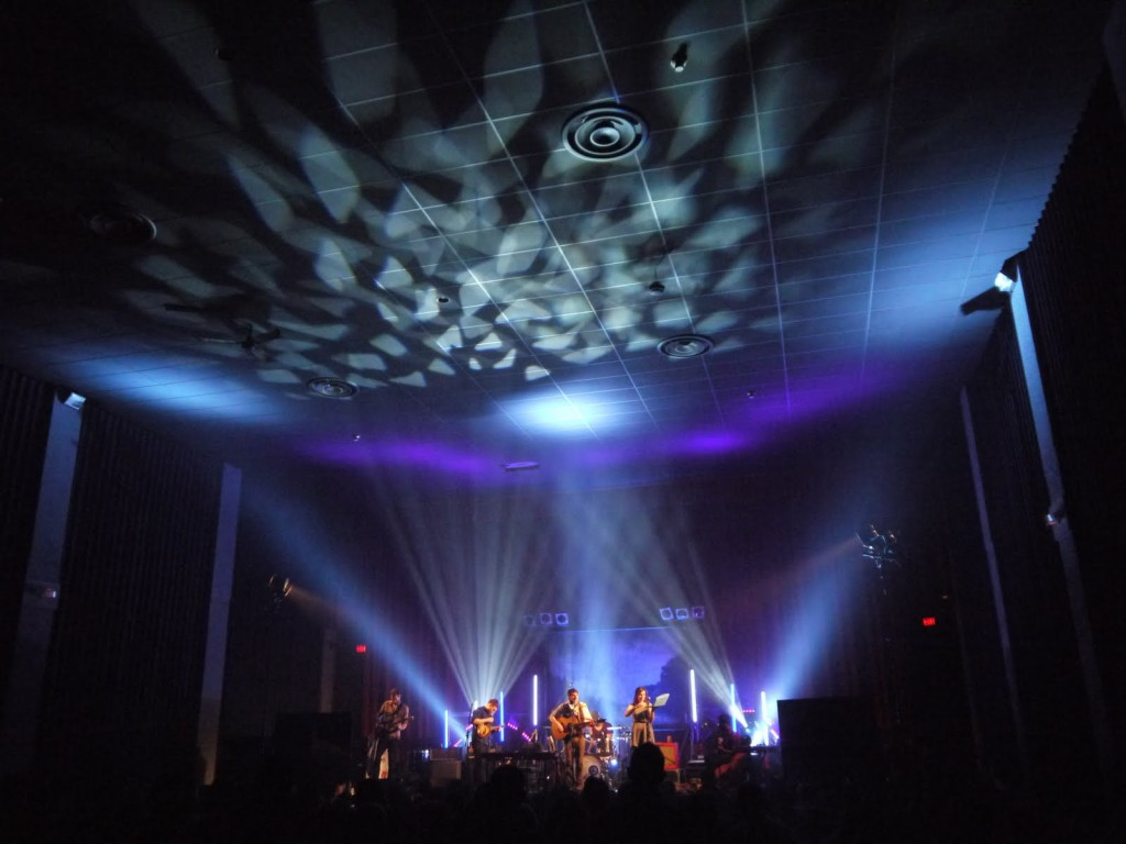 the band Hey Rosetta playing at the Rio