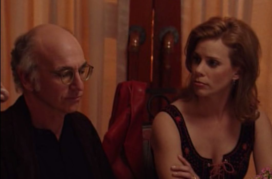 Larry David and Cheryl Hines in Curb Your Enthusiasm