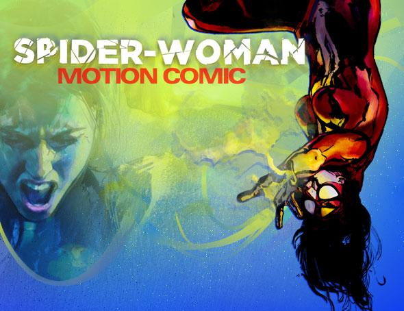 Spiderwoman Motion Comic
