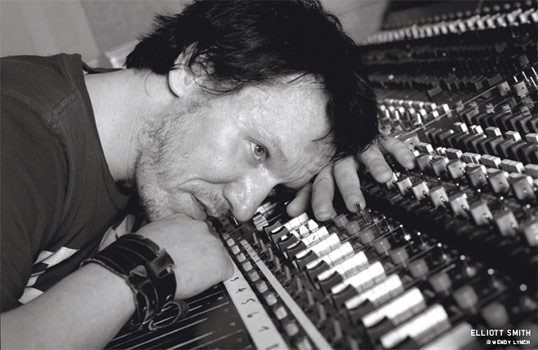 Elliott Smith at the piano