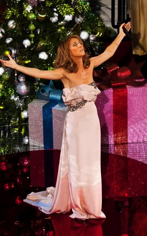celine dion, making a travesty of christmas