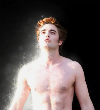 Edward Cullen is so handsome he sparkles