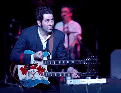martin tielli of the Rheostatics