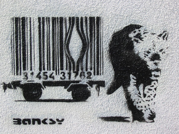 banksy-graffiti-street-art-bar-code-escape