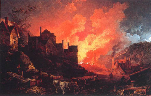 Loutherbourg_Coalbrookdale_by_Night_1801