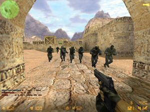 a screen shot from Counterstrike
