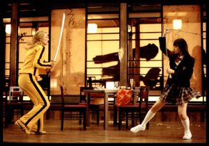 females fighting in Kill Bill