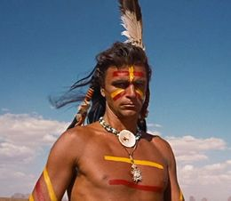 a native american in The Searchers, 1956