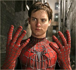 Tobey Maguire, action star