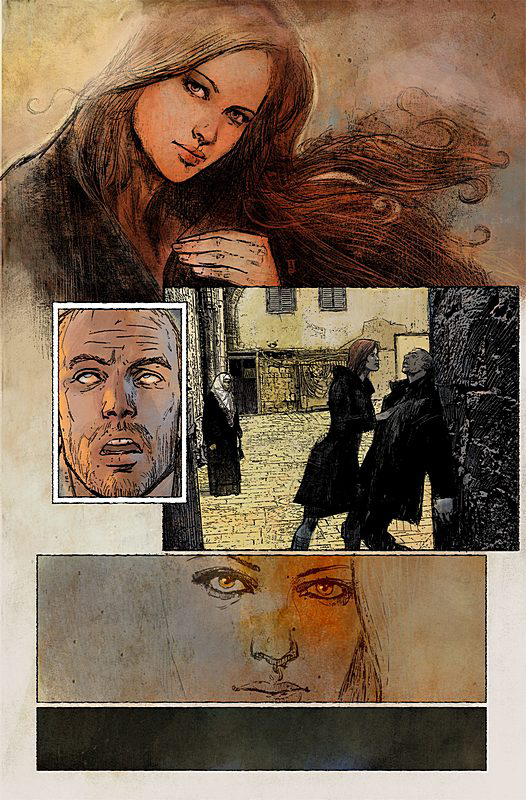 Alex Maleev's art from New Avengers
