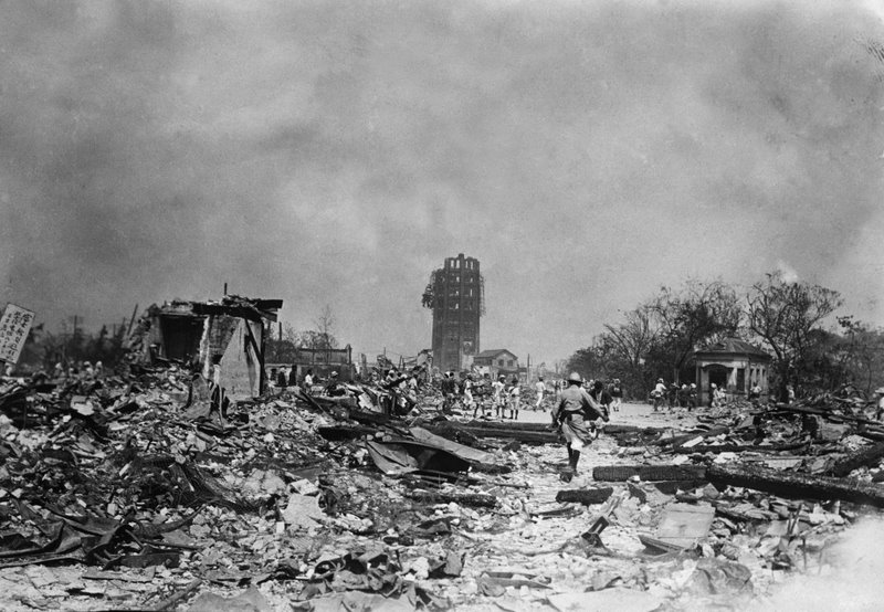 Kanto earthquake, 1923